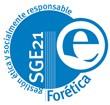 Sello de certificación SGE 21