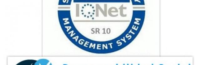 Sr10 la Certificación de Responsabilidad Social de la red IQNet