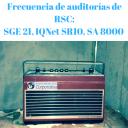 FRECUENCIA DE AUDITORÍAS DE RSC