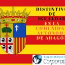 Distintivo de igualdad en la Comunidad Autónoma de Aragón