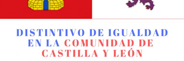 Distintivo de igualdad en Castilla y León